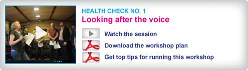Choir Doctor Health Check 1