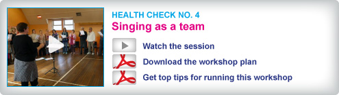 Choir Doctor Health Check 4