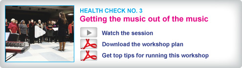 Choir Doctor Health Check No.3